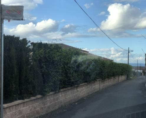 Calle de los titiriteros en El Villar