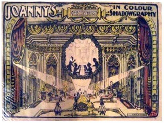 Los Joannys y el juego de luces y sombras-Cartel