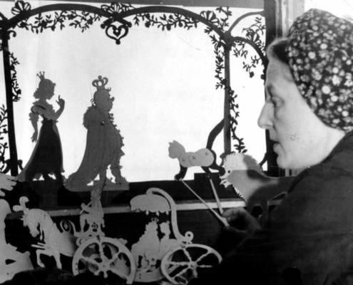 Lotte Reiniger la primera mujer animadora de sombras chinescas