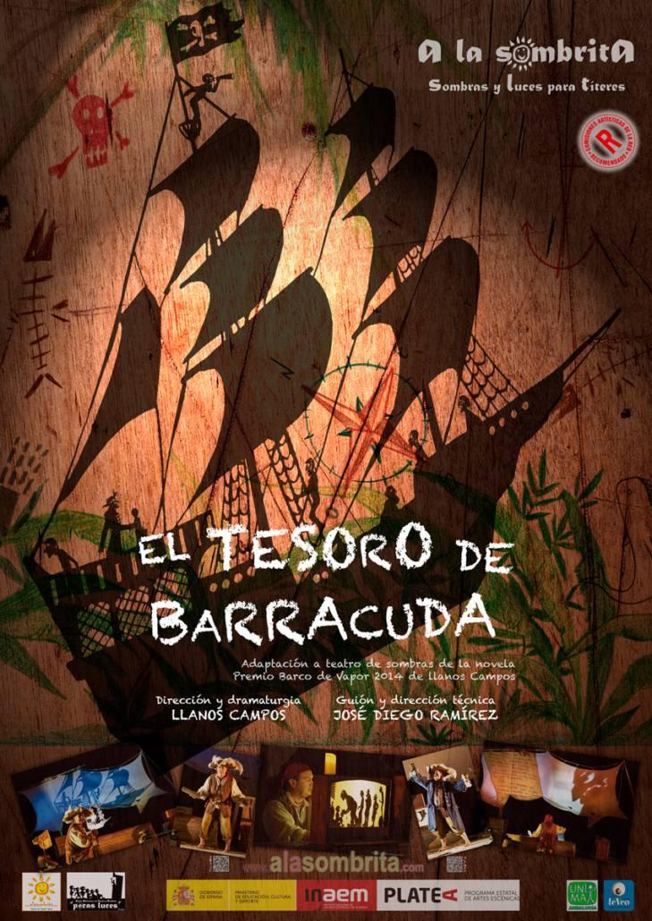 El Tesoro de Barracuda - Teatro de Sombras - Cartel R