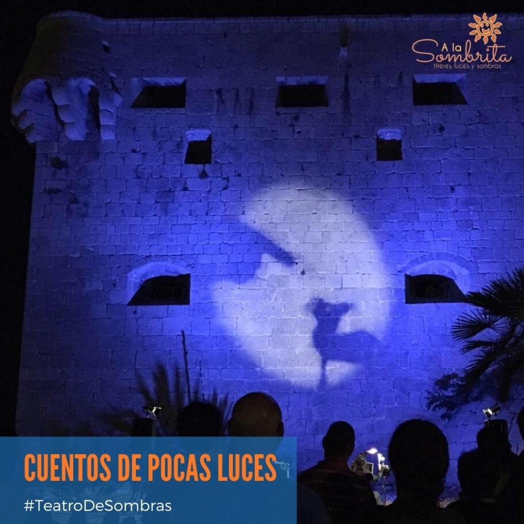 Teatro De Sombras para CALLE Cuentos de Pocas Luces