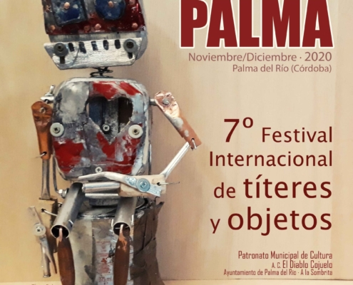 tititriPALMA 2020 7 Festival Internacional del titere y objetos-CARTEL