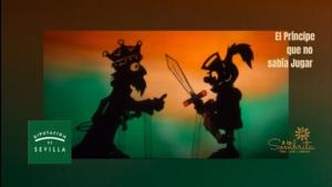 El Principe que no sabía jugar - Teatro de Sombras - A la Sombrita - Fomento